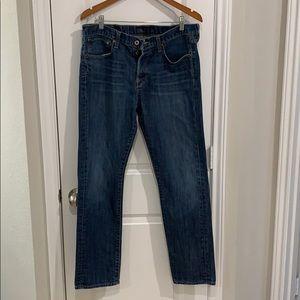 Men's lucky denim jeans